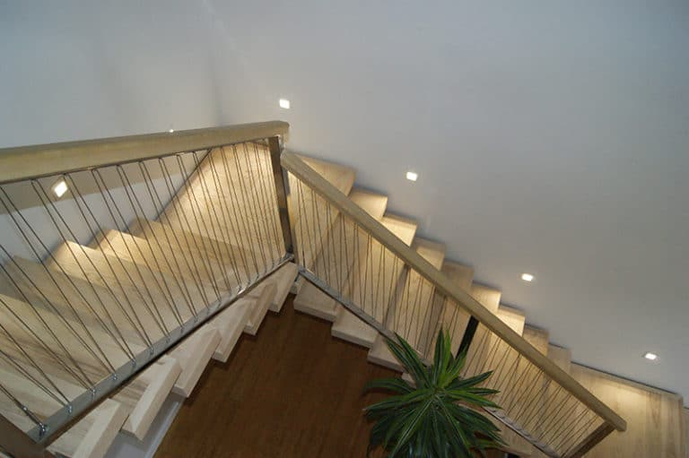 Staircase with lights 1