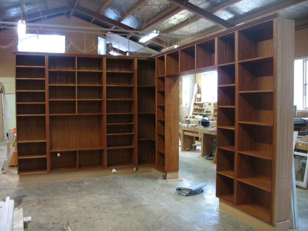 Customised Wooden Shelving 1