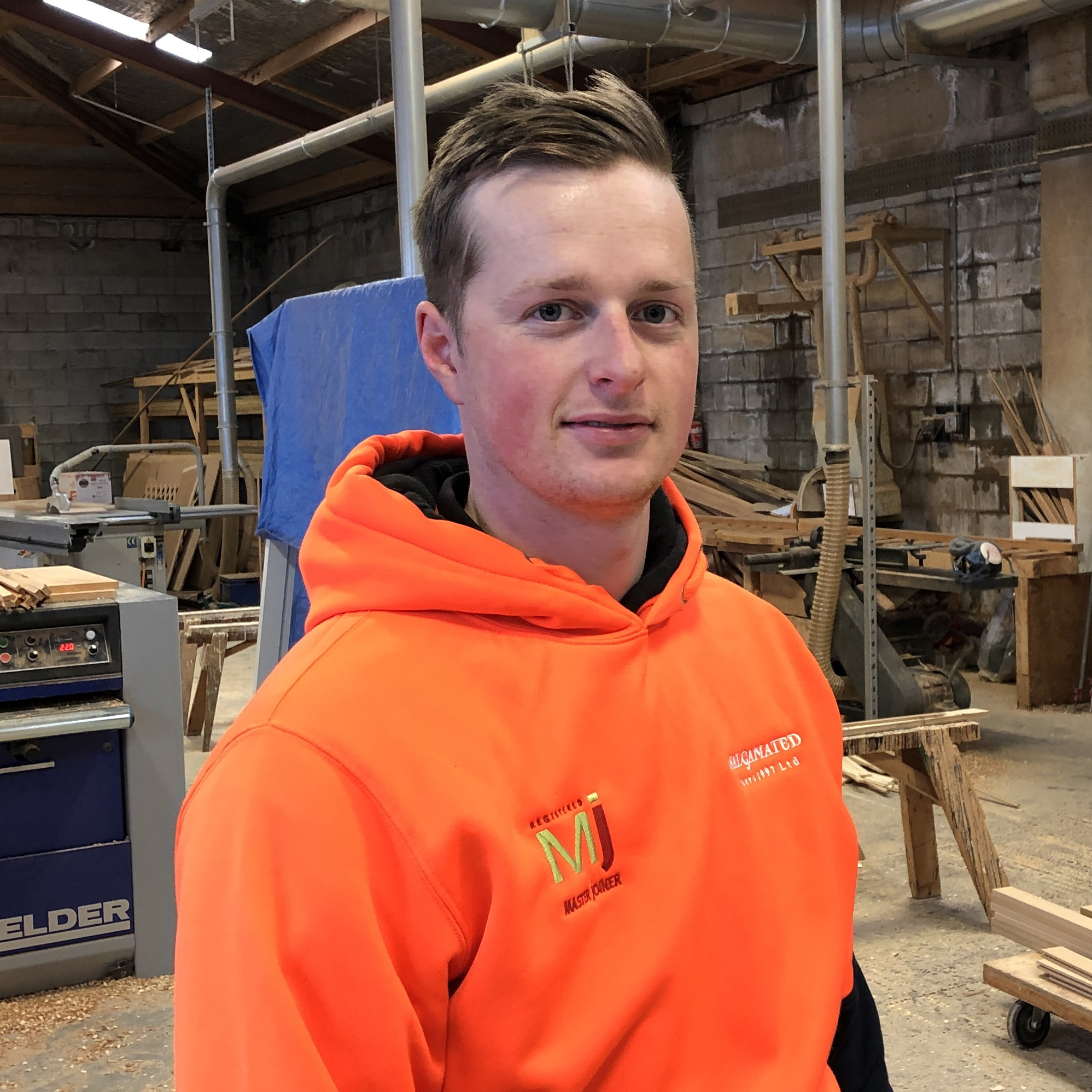 William Pepper - most promising joinery apprentice